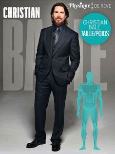 Christian Bale Taille Poids Muscles Mensurations