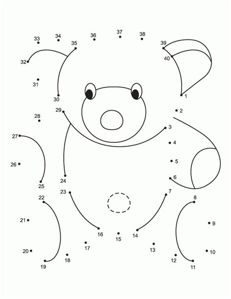 connect  dots worksheets   clip art