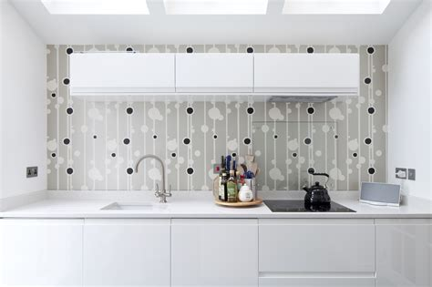 Modern Kitchen Wallpaper  Home Designs