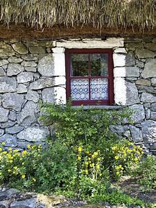 Irish, Cottage, Window, County, Clare, Ireland, Photograph, By, Teresa, Mucha