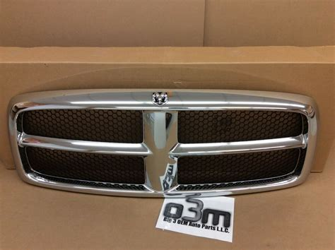 New Ram Grill by Dodge Ram 1500 2500 3500 Front Radiator Chrome Grille New