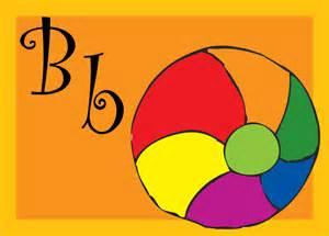 Letter B Ball