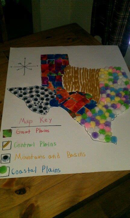 Texas Regions Project Ideas