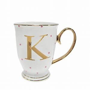 Alphabet mugs buy online free uk delivery for Alphabet letter mug