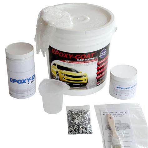 epoxy flooring kit lowes shop epoxy coat 2 part black high gloss garage floor epoxy kit actual net contents 48 fl oz