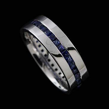 great ideas  sapphire wedding bands  pinterest