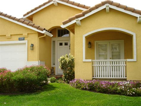 yellow paint colors for exterior exterior cool yellow exterior paint feats with white