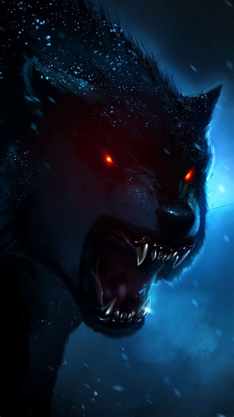 Beast Scary Wolf Wallpaper by Anime Wolf Wallpapers 78 Background Pictures