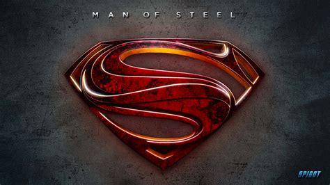 Man of Steel Logo Wallpaper - WallpaperSafari
