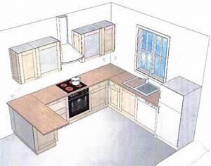 Modele Cuisine En L : modele cuisine simple suspension contemporaine cuisine cuisines francois ~ Teatrodelosmanantiales.com Idées de Décoration