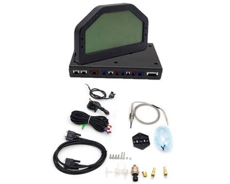 digital auto dashboard rally car dashboard sensors kit