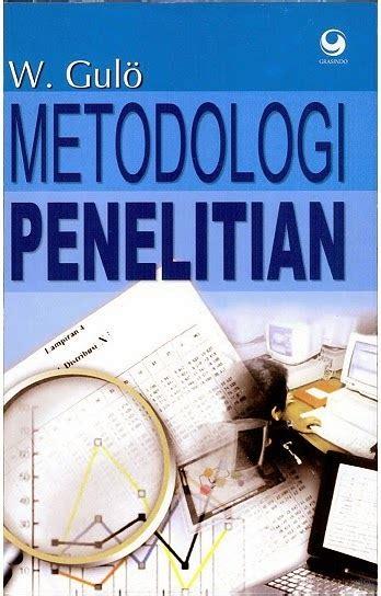 buku metodologi penelitian