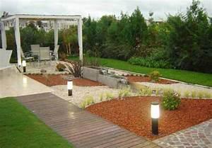Jardines modernos con piedras inspiracion de diseno de for Jardines disenos modernos