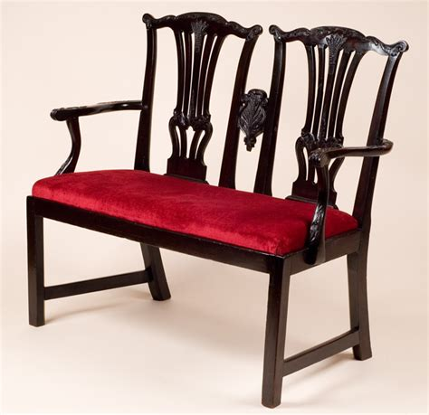 Back Settee by Antique Chair Back Settee
