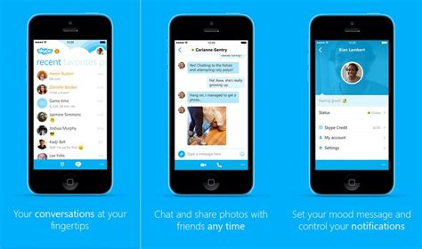 skype app for iphone image gallery skype ios