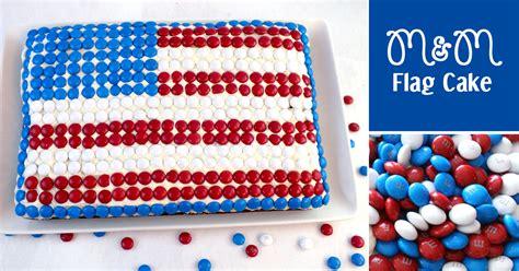 mm flag cake  sisters