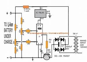 4 Simple Li-ion Battery Charger Circuits
