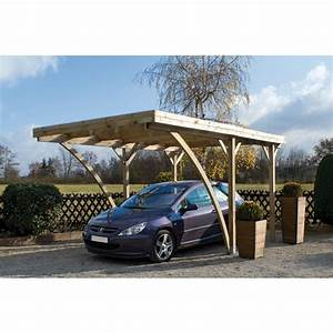 Carport en bois vanoise for Nice abri de jardin bois pas cher leroy merlin 2 carport 3 voitures bois