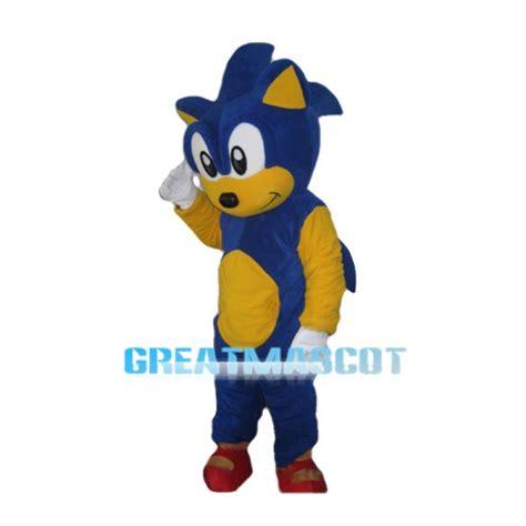 Adventurous Sonic the Hedgehog Mascot Costume