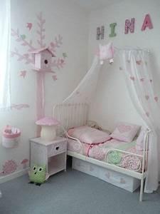 Ciel De Lit Bébé Fille : d co chambre fille ciel de lit ~ Teatrodelosmanantiales.com Idées de Décoration