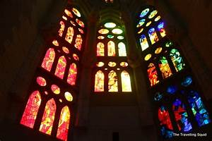 In pictures (2) -The interior of La Sagrada Familia and ...