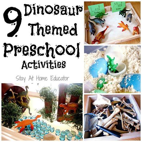 nine dinosaur themed preschool activities kid 997 | 8927847fd4a09bfb345c907b6e3d5875