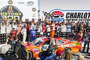 LARSON WINS HISTORY 300 NATIONWIDE RACE AT CHARLOTTE