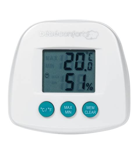 thermomètre hygromètre bebe confort avis