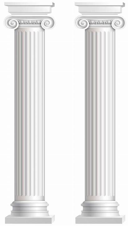 Pillars Transparent Clip Clipart Pillar Columns Interior