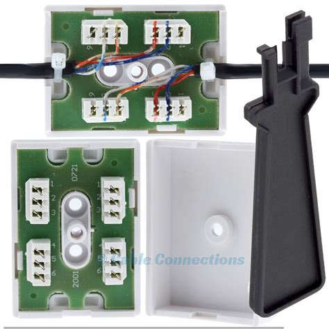junction box for telephone cable wire bt77a idc tool 2 3 pair joining connection ebay