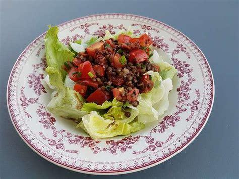 lentille cuisine recettes de salade de lentilles de cuisine