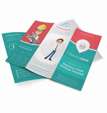 Brochure Template Graphicmama Jasa Fold Tri Trifold