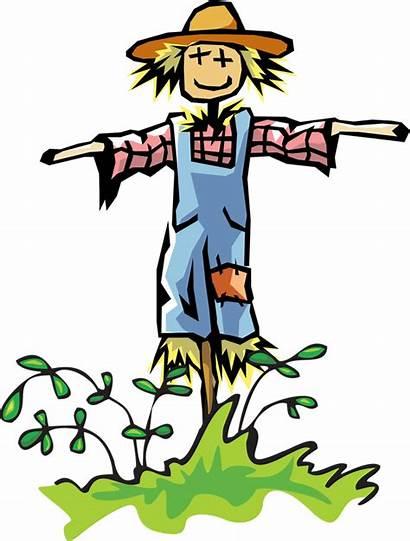 Scarecrow Clip Clipart Wizard Oz Build Crow