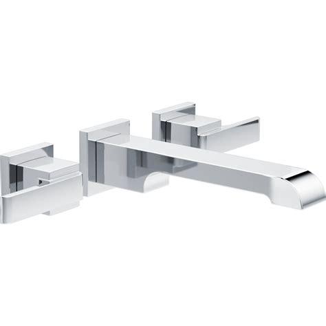 Delta Ara Wall Mount Faucet delta ara two handle wall mount lavatory faucet reviews