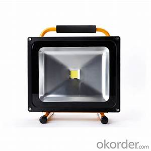 Buy portable chargable w led flood light v