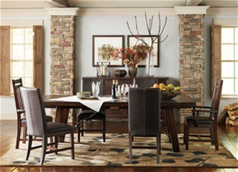 havertys rustic dining room table havertys furniture transitional dining room other