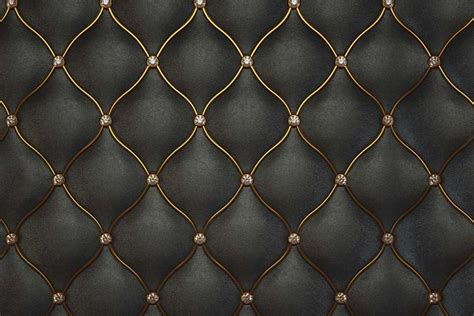 luxurious black leather pattern textured wallpaper walls and murals