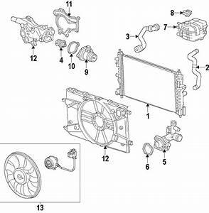 Chevrolet Sonic Fan  Blade  Motor  1 4 Liter Turbo  Auto