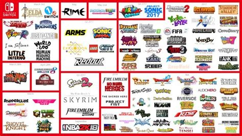 Nintendo Switch Games Lineup Quadruples  News & Opinion