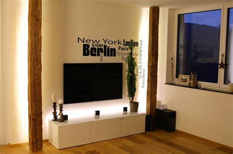 Wohnzimmer Design Wandgestaltung by Altholz Balken Wandgestaltung Haus In 2019