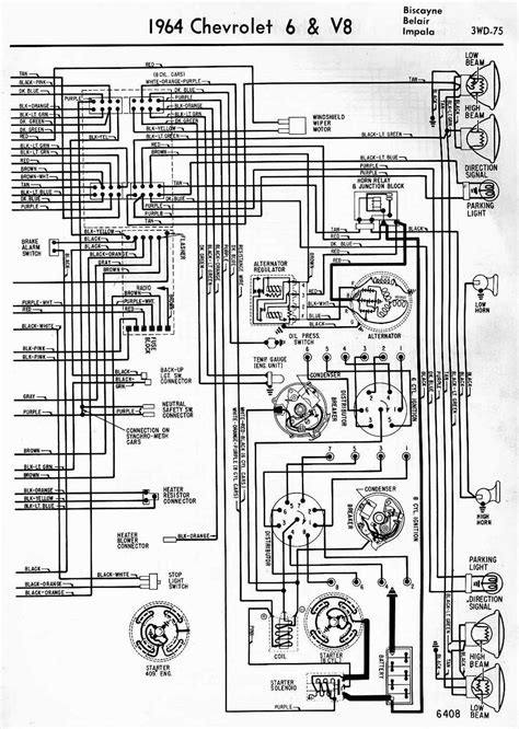 Wiring Diagrams Chevrolet Biscayne Belair