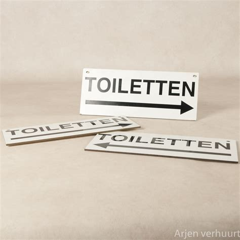 toilet sanitair signing toiletten arjen verhuurt