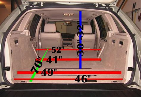 bmw x5 volume coffre x5 rear seat folded