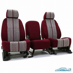 Coverking saddle blanket custom fit seat covers for Custom furniture seat covers
