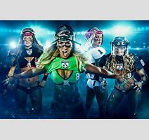 Sporty Badchix In Lfl Legends Football League