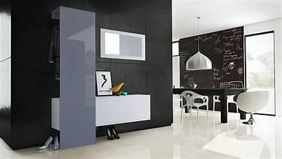 Mobile Specchio Scarpiera Appendiabiti Neve Ingresso Colori