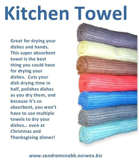 Washing Kitchen Towels By by You Can Go At Least A Week Without Washing The Norwex