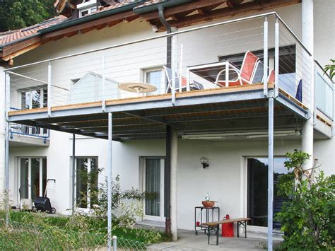 balkon stahlkonstruktion metallbau