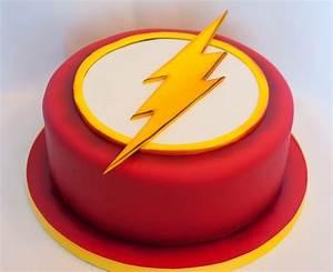 Flash Birthday Cake - CakeCentral com