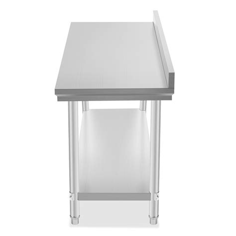 stainless steel food prep table commercial stainless steel food work prep table 60 x 24